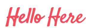 Hello Here